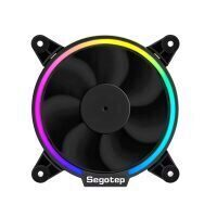 Ventilator Segotep Lighting 140mm RGB