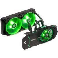 Cooler placa video cu lichid ID-Cooling ICEKIMO 240VGA iluminare verde