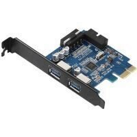 Adaptor Orico PVU3-2O2I 2 Port-uri USB 3.0 PCI-Express Card