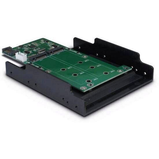 Adaptor Inter-Tech Argus KT022B 2x M.2 SATA