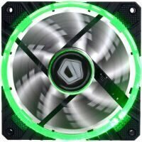 ID-Cooling CF-12025-G 120mm Concentric Circular Green LED fan