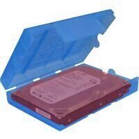 "Inter-Tech KP03 3.5"" HDD Carrying Case Blue"