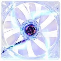 Ventilator Thermaltake Pure S 12 LED 120mm transparent cu iluminare albastra