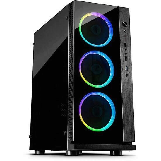 Carcasa Inter-Tech W-III RGB