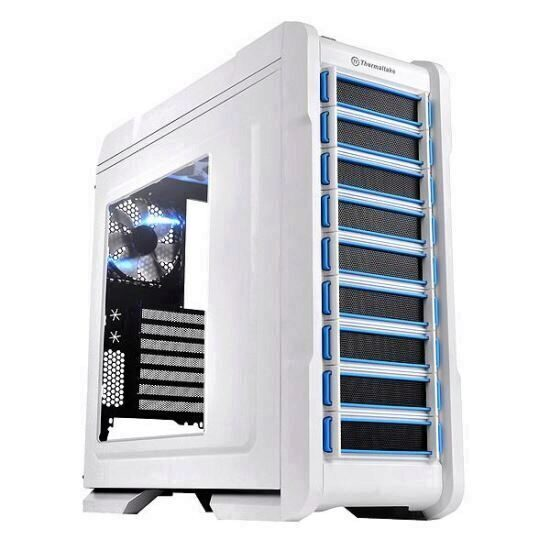 Carcasa Thermaltake Chaser A31 Snow Edition alba